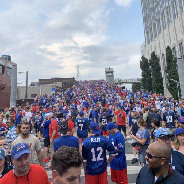 Fans of Buffalo Nashville takeover titans bills