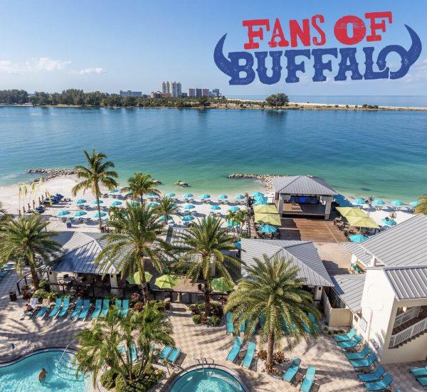 Fans of buffalo bills tampa bay bucs buccaneers road trip bills road trips package