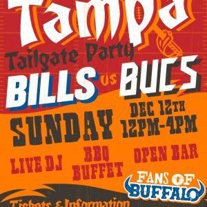 Breaking Tables X Fans of Buffalo Tampa Tailgate!