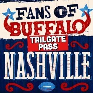 Nashville VIP TAILGATE ONLY Pass