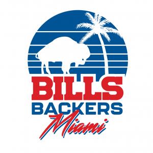 Fans of Buffalo X Bills Backers Miami VIP Tailgate Pass